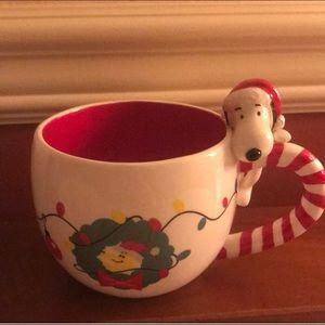 Snoopy Christmas mug